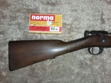 Arisaka 6.5mm Jap Bolt action 26in barrel plus full box of ammo