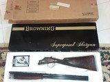 1979 NIB Browning P3-U Superposed Superlight 20ga All (Options)