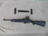 Ruger PC-9 Carbine in 9 MM. with Co-Witnessed Sig Sauer Romeo5 Red Dot and Threaded Barrel, 3 Magazines. - 2 of 13