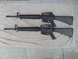 Colt AR-15A4 Consecutive Serial Numbered Pair of Brand New 5.56 mm Rifles in Factory Boxes