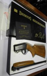 BELGIAN BROWNING 22 LR GRADE 1, NEW IN THE BOX - 2 of 2