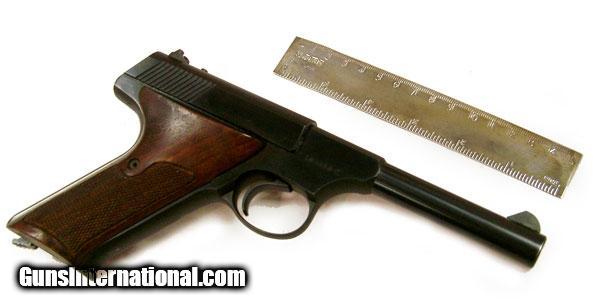 how to clean a colt huntsman 22 pistol