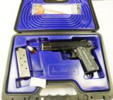 "DAN WESSON VALKYRIE 45ACP, 4.25"" BL, G10 GRIPS, NEW IN CASE, NEVER FIRED."