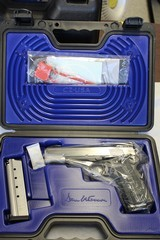 DAN WESSON 1911 SILVERBACK 9MM LUGER (01894), BRAND NEW IN CASE.