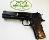 REMINGTON MODEL 1911 R1 -45 AUTO, 200TH YEAR ANNIVERSARY LIMITED EDITION - 4 of 5