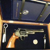 SMITH & WESSON MODEL 25-3, 125TH ANNIVERSARY, 1852-1977, 45 CALIBER