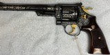 """SMITH & WESSON MODEL 29-3 .44 MAG, 8 1/2""""BL, FULLY ENGRAVED - 1 of 6"""