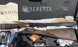 """beretta 471el ocf 12ga 28"""", new, never fired, cased"""
