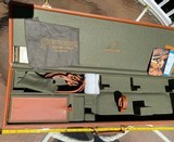 """BROWNING CUSTOM SHOP GUN CASE,LEATHER, 32"""", NEW. - 1 of 4"""