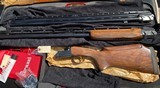 """PERAZZI MX10RS COMBO ADJ 12GA 34"""" UNSINGLE AND 31 1/2"""" OVER UNDER, BRAND NEW, NEVER FIRED, CASED"""