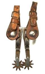 Crockett Single Mounted Spurs