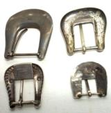Five Silver Buckles Etc. - 2 of 7