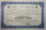 Historic Smith & Wesson Registered Magnum Texas Shipped - 7 of 25