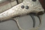 Rare Engraved Colt 1862 Conversion - 10 of 22