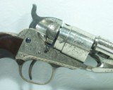 Rare Engraved Colt 1862 Conversion - 4 of 22