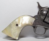 Factory Engraved Colt SAA 44-40 – Letter to San Antonio, TX in 1904 - 2 of 20