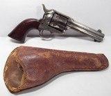"""Colt SAA 45 – Nickel Wood 4 ¾"""" 1881"""