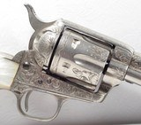 Colt Single Action Army 45 Texas shipped Factory Engraved 1892 - 16 of 21