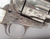 Colt Single Action Army 45 Texas shipped Factory Engraved 1892 - 2 of 21