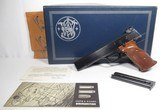 Smith & Wesson Model 41 – 22 Target Pistol Made 1963