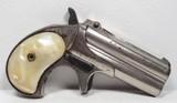 Remington Type 2 Model 95 Double Deringer