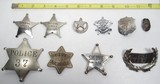 10 Authentic Old Badges - 1 of 2