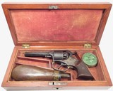 Engraved Cased Remington Rider Pocket Revolver