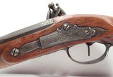 French Flintlock Pistol Made by Moury, Louviers France - 8 of 19
