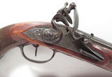 French Flintlock Pistol Made by Moury, Louviers France - 3 of 19