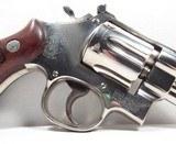 "Smith & Wesson 357 Mag (Pre 27) 3 ½"" Nickel - 4 of 22"
