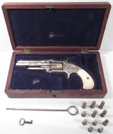Spectacular Engraved & Cased S&W 1 ½ Revolver