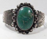 Nice Silver Turquoise Bracelet