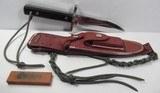 """Randall Made Knife (RMK) Model 17 """"Astro"""" Vietnam War"""