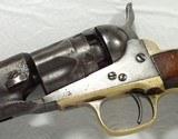 Colt 1862 Police Revolver Made 1861 - 8 of 17