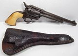 Early Colt SAA 45 Shipped 1876 with Holster