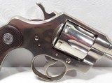 RARE Nickel Colt OFFICIAL POLICE - 3 of 20