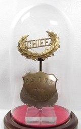 Antique San Antonio, TX Chief of Police Badges