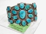 Navajo Old Pawn Vintage Turquoise Bracelet