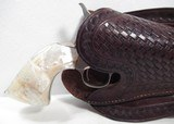 Double Loop Basket Weave Holster for Colt SAA - 2 of 12