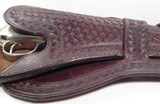 Double Loop Basket Weave Holster for Colt SAA - 5 of 12