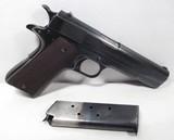 Colt 1911 A1 – National Match – Made 1937