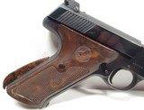 Colt Woodsman Match Target 2nd Model – 1951 - 6 of 15