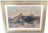 10.5 x 15.25 Charles M. Russel Print