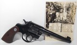 Colt Officers Model Target Revolver – Texas Police History - 1 of 23