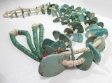 Outstanding Turquoise Tab Necklace