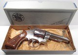 Rare S&W Model 58 Nickel with Box