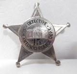 Rare San Antonio Police Detective Badge – Circa 1927