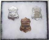 3 Rare S.A.P.D. Badges