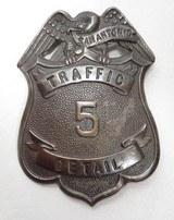 San Antonio Traffic Detail Badge #5 – Eagle Top