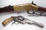 FINE ANTIQUE FIREARMS From COLLECTING TEXAS – WEXEL & DEGRESS WINCHESTER 66 & VERY EARLY 3rd MODEL RUSSIAN ENGRAVED - 1 of 25